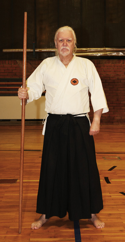 Kobudo Trainer in klassicher Montour
